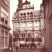 Den Haag. Oude Stadhuis rond 1890