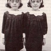 Diane Arbus identical twins  Copy to illustrate Arbus Lookalikes